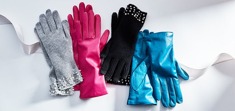 Up to 65% Off Leather & Cashmere Gloves