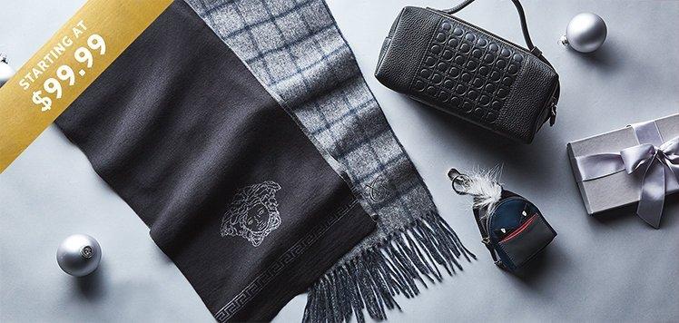 Designer Scarves to Bags