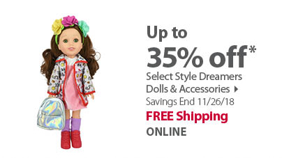 Select Dreamer Dolls & Accessories