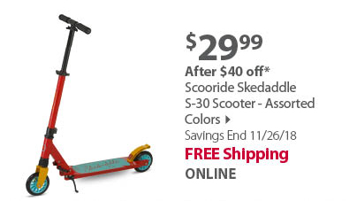 Scooride Skedaddle S-30 Scooters