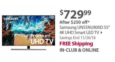 Samsung 50NU6950 50 4K UHD Smart LED TV