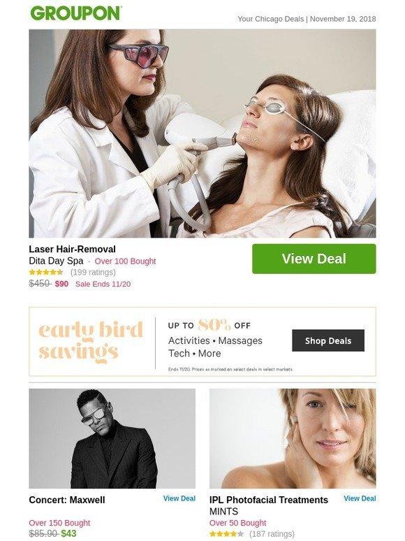 Groupon SG: Laser Hair-Removal | Milled