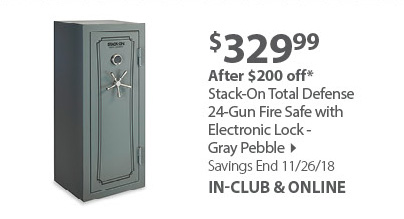 Stack On 24 Gun Safe