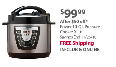 Power Pressure Cooker 10QT