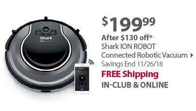 Shark ION ROBOT 750 Connected Robotic Vacuum