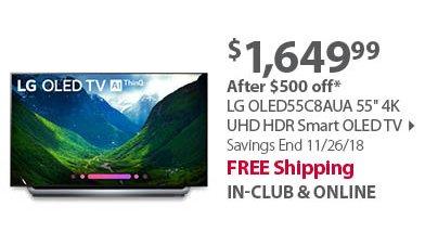 LG OLED55C8AUA 55 4K UHD HDR Smart OLED TV