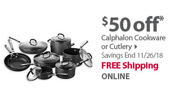 Calphalon Cookware or Cutlery