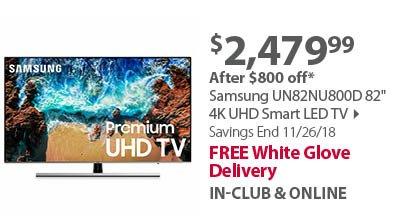 Samsung 43NU6950 43 4K UHD Smart LED TV