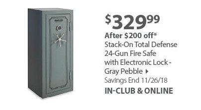 Stack On 24 Gun Safe