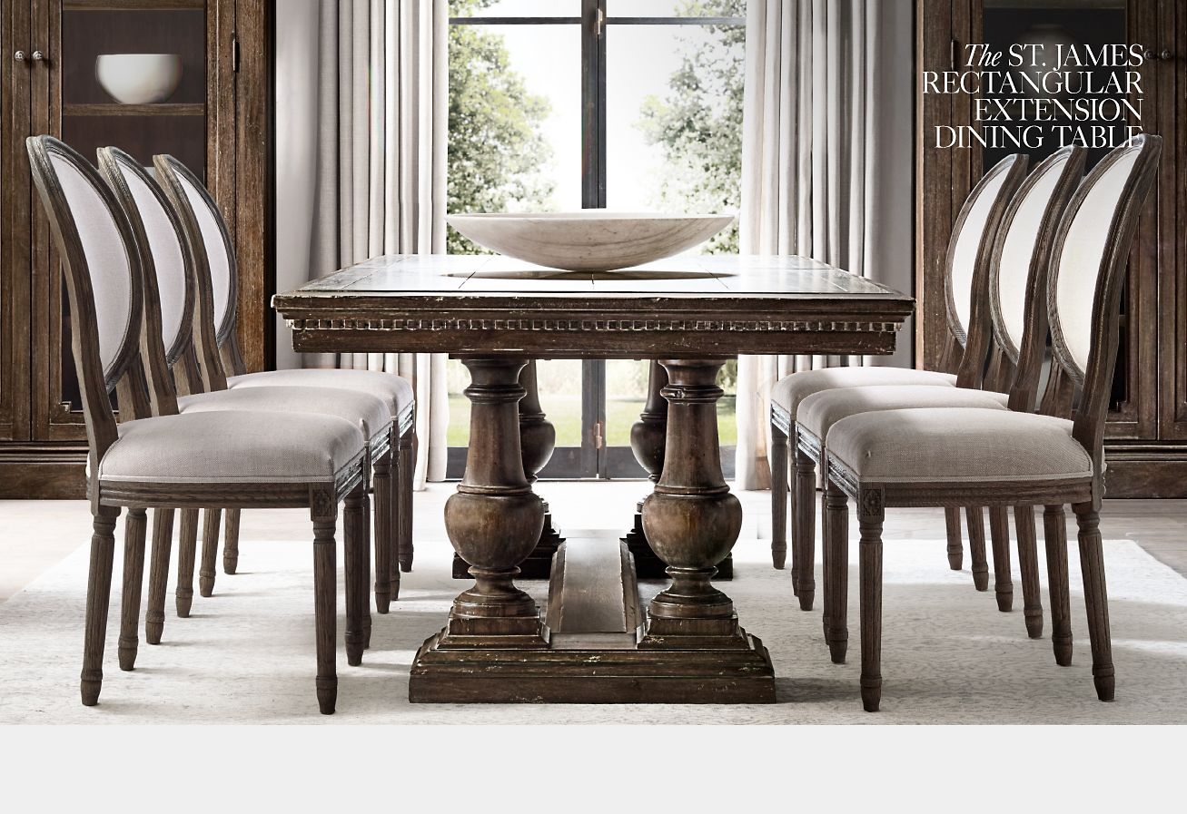 Restoration Hardware An Ode To The Artisan S Hand The St James Collection Milled