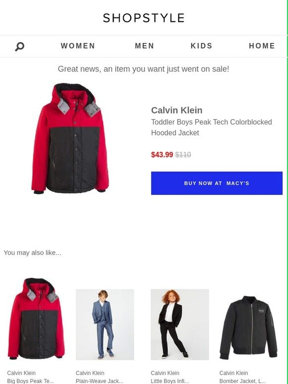 865b23a59 ShopStyle: Sale Alert: Calvin Klein   Milled