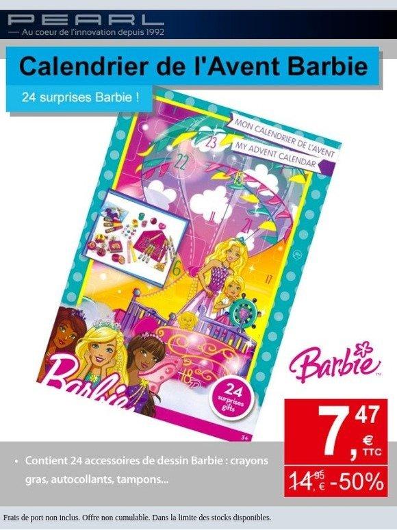 Calendrier Avent Barbie.Pearl Fr Un Calendrier De L Avent Barbie A Moins 50 Milled