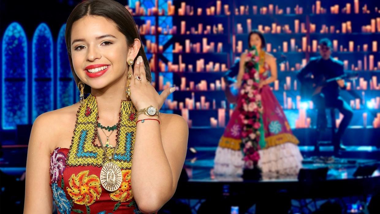 Univision: Exclusiva: esto es lo que Ángela Aguilar hubiera dicho si se ganaba el Latin GRAMMY   Milled