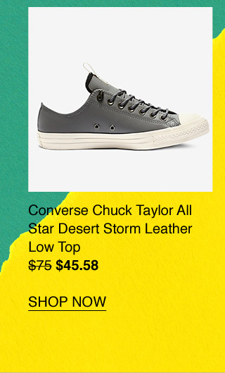 Shop Now  Converse Chuck Taylor All Star Desert Storm Leather Low Top ... 297ef9ab8