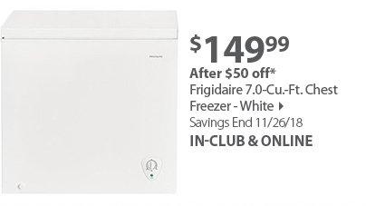 Frigidaire 7.0-Cu.-Ft. Chest Freezer - White