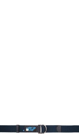 Prada - Blue Logo Nastro Belt