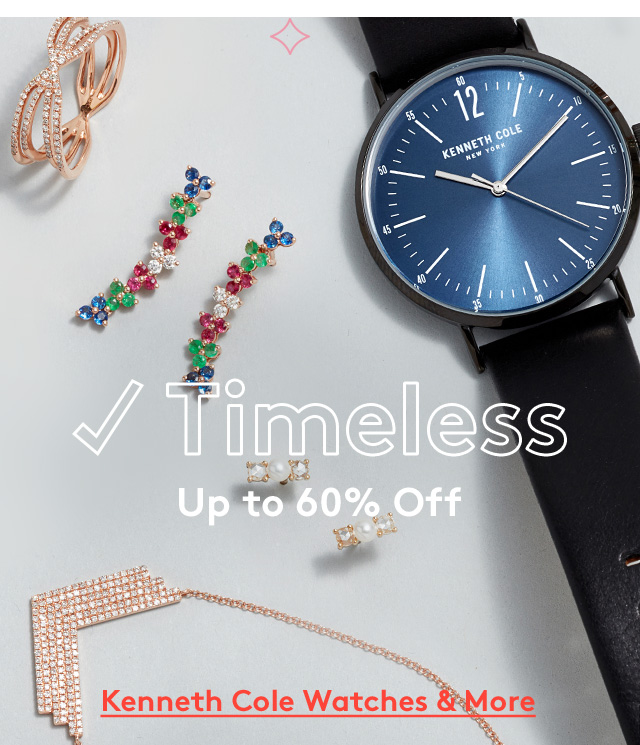 Timeless | Up to 60% Off | Kenneth Cole Watches & More