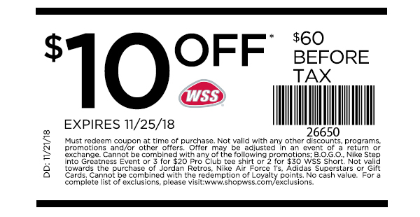 wss store coupons 2019