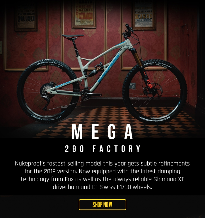 Nukeproof Mega 290 Alloy Factory Bike XT