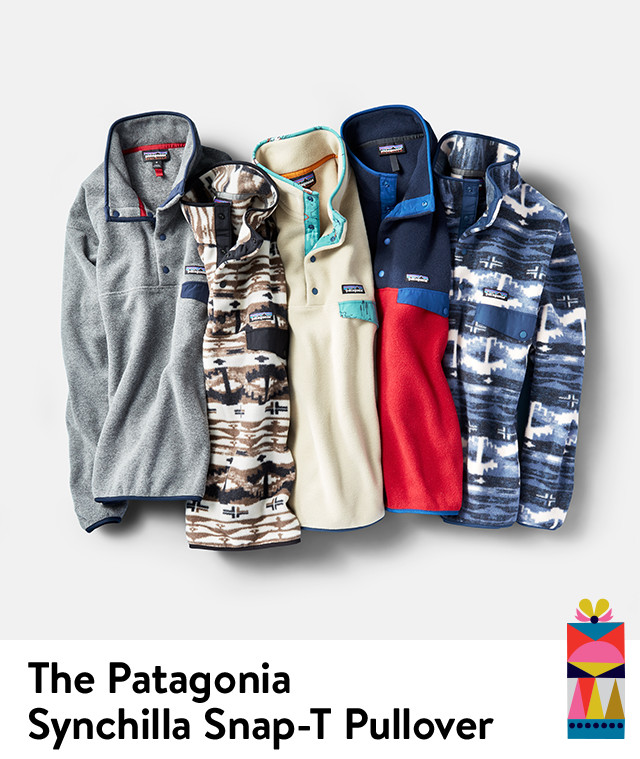 The Patagonia Synchilla Snap-T Pullover.