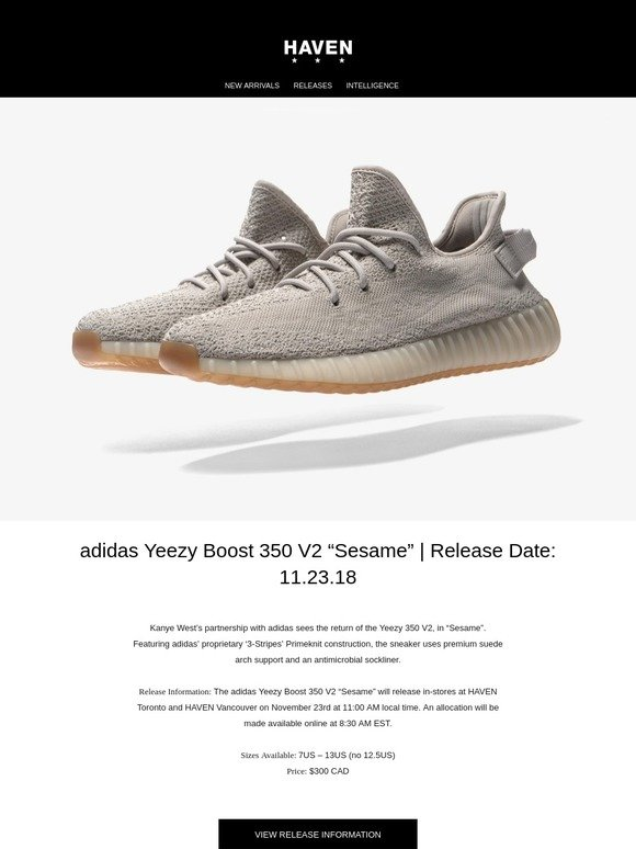 8231cfb70 Haven  Releases  adidas Yeezy Boost 350 V2   A BATHING APE
