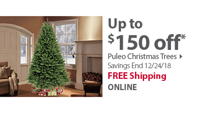 National Tree Company Christmas Trees and Decorations