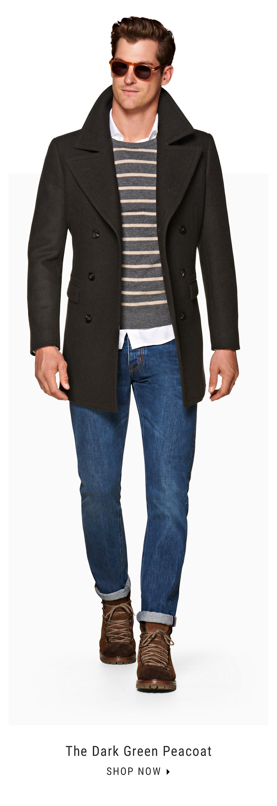 women pre order wholesale dealer Suitsupply: The Peacoat | Milled