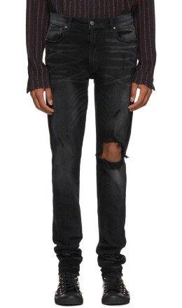 Amiri - Black Broken Jeans