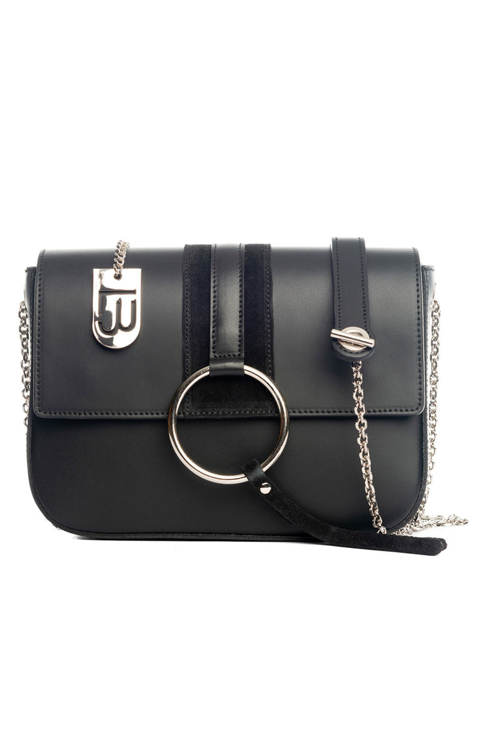 SANTA FIORA HANDBAG IN BLACK
