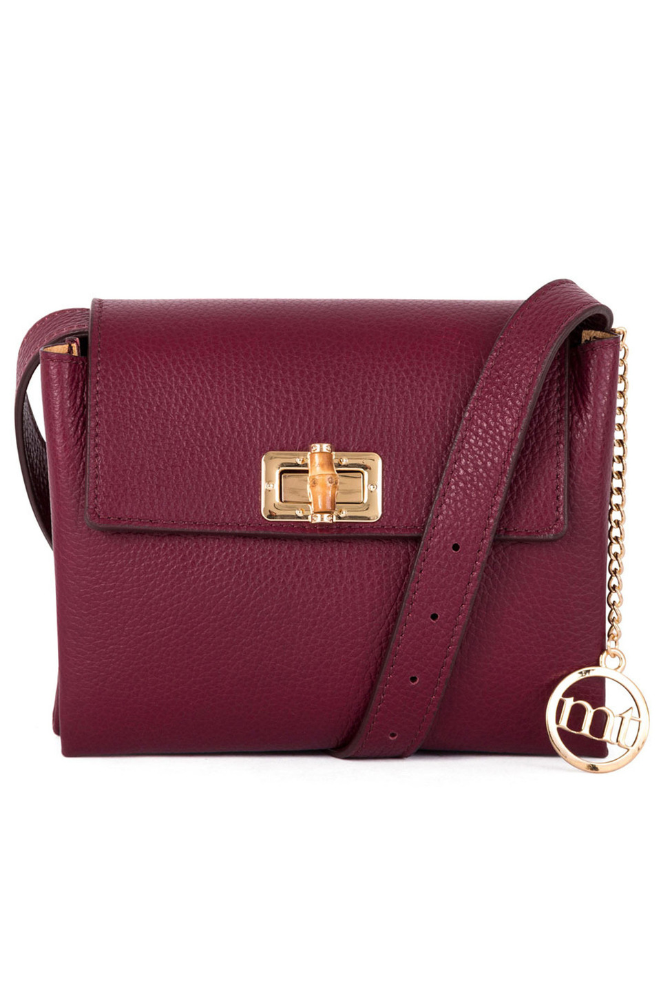 HEIDI HANDBAG IN WINE