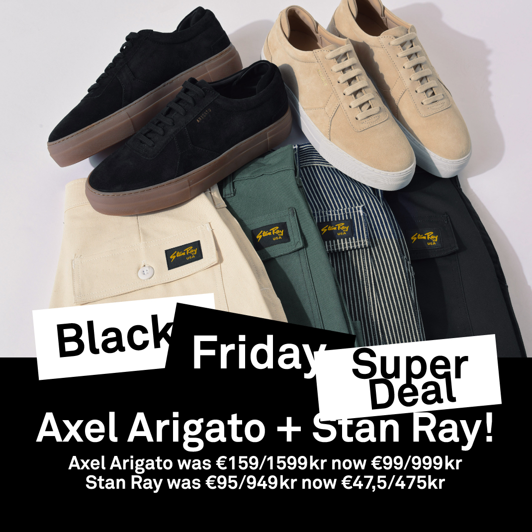 Caliroots: BLACK FRIDAY SUPER DEAL: STAN RAY + AXEL ARIGATO