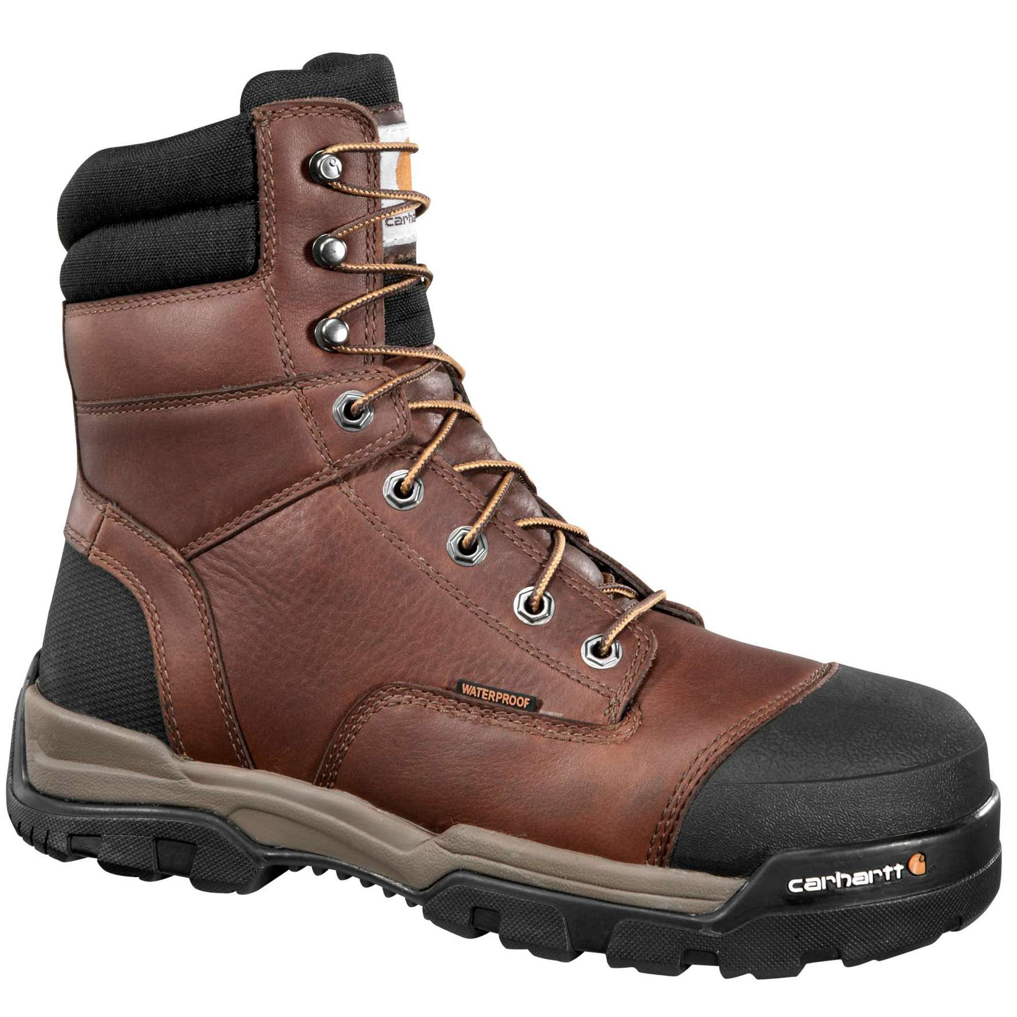 MEN'S GROUND FORCE 8-INCH COMPOSITE TOE WORK BOOT