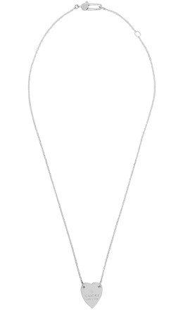Gucci - Silver Heart Pendant Necklace