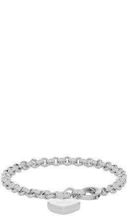 Gucci - Silver Heart Bracelet