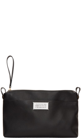 Maison Margiela - Black Top Zip Pouch