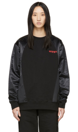adidas Originals by Alexander Wang - Black AW Sweatshirt