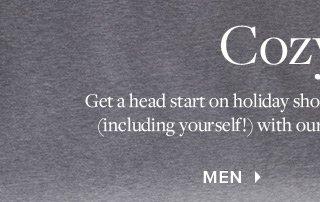 COZY UP | MEN