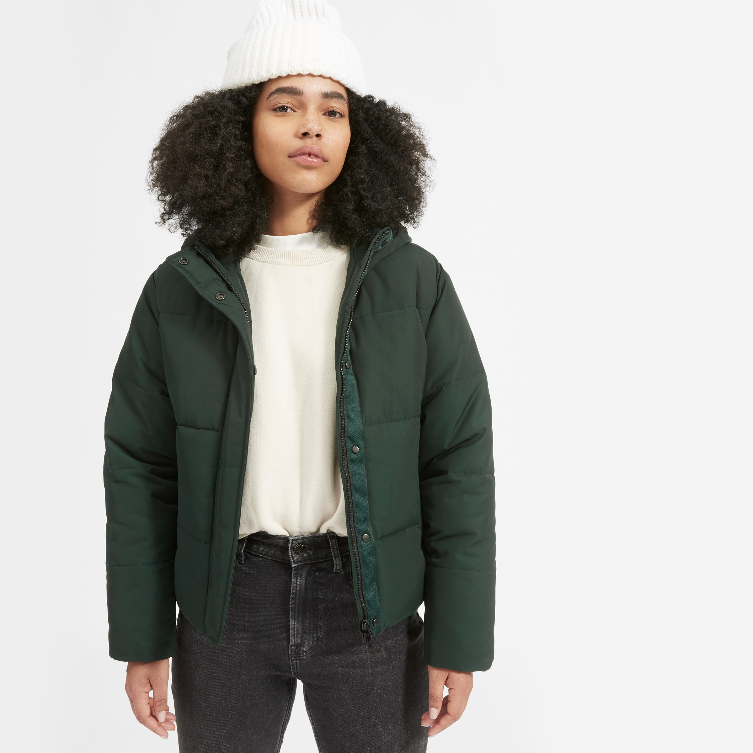 The ReNew Short Puffer