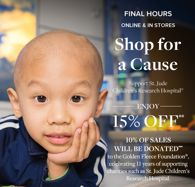 FINAL HOURS | SHOP FOR A CAUSE