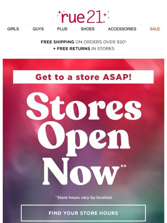 Rue21 Stores Open Now 5 Black Friday Deals Milled