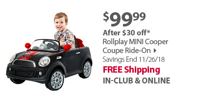 Rollplay MINI Cooper Coupe Ride-On