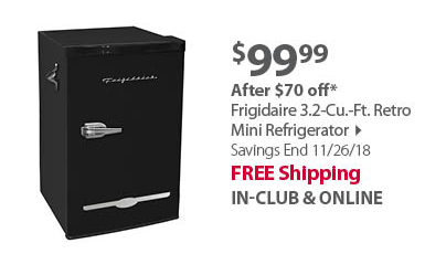 Frigidaire 3.2-Cu.-Ft. Retro Mini Refrigerator