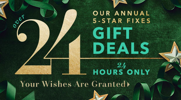 ★ TODAY'S GIFT DEALS ★ ARE SERVED.