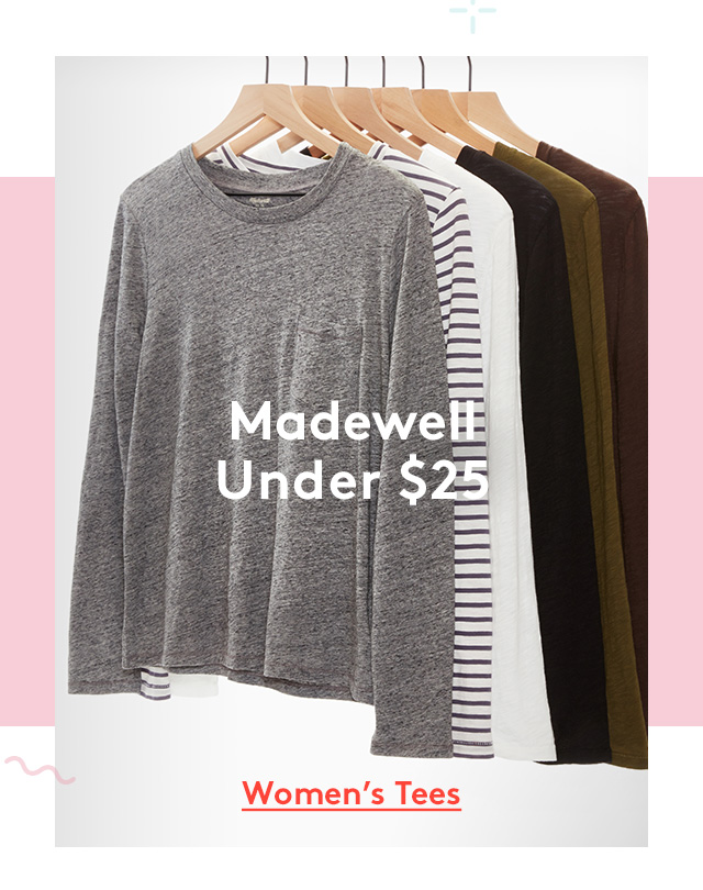 Madewell Under $25 | Women's Tees