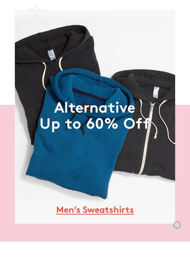Alternative | Up to 60% Off | Men's Sweatshirts