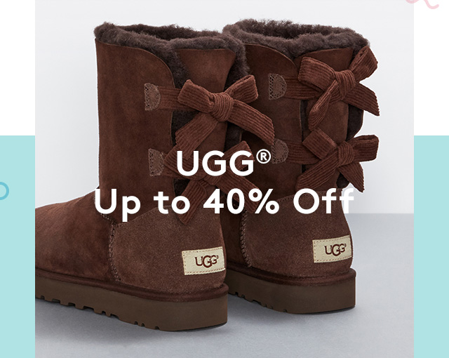 UGG® | Up to 40% Off