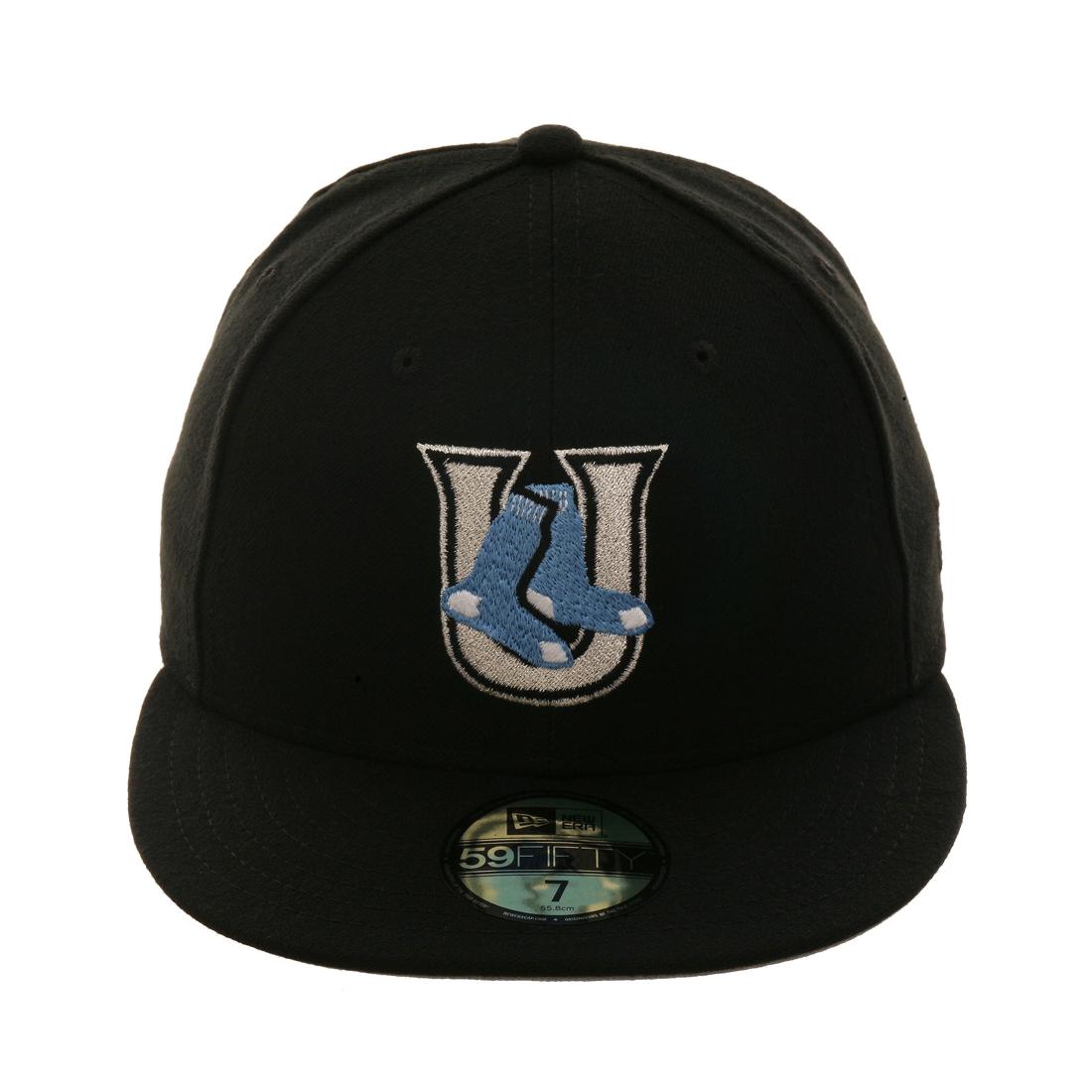 dfb8b74608f Exclusive New Era 59Fifty Utica Blue Sox Hat - Black