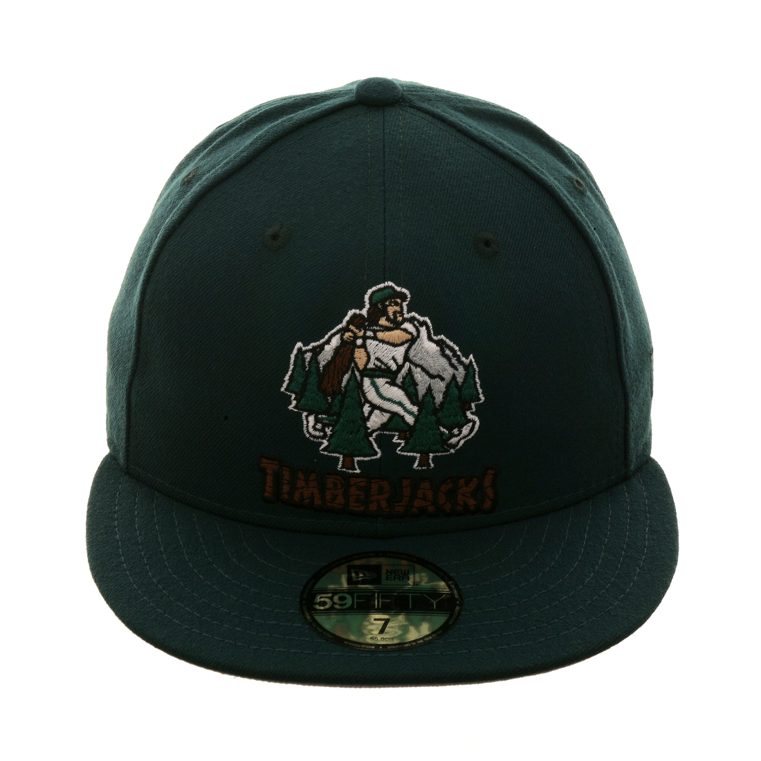 faa1536fb88 Exclusive New Era 59Fifty Southern Oregon Timberjacks Hat - Forest Green