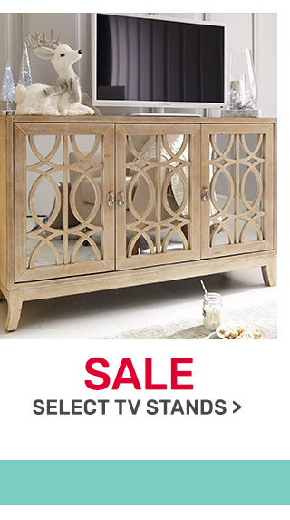 Select TV stands on sale.