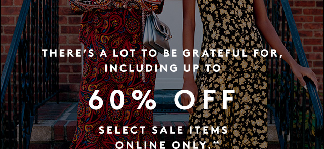 Save up to 40% off in our Designer Sale.